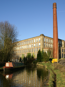 Clarence Mill Office Space Macclesfield's chimney