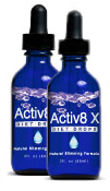 Diet drops from Activ8 X