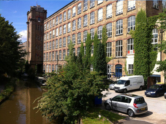 Office space and industrial units to rent in Macclesfield at Clarence Mill Bollington
