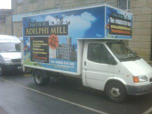 Adelphi Mill Offices Macclesfield Van