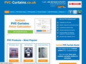 PVC Curtains in Clarence Mill Office Space Macclesfield